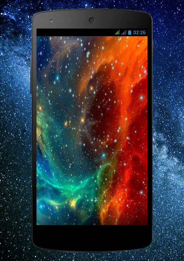 Скачать Космос Живые Обои для Андроид