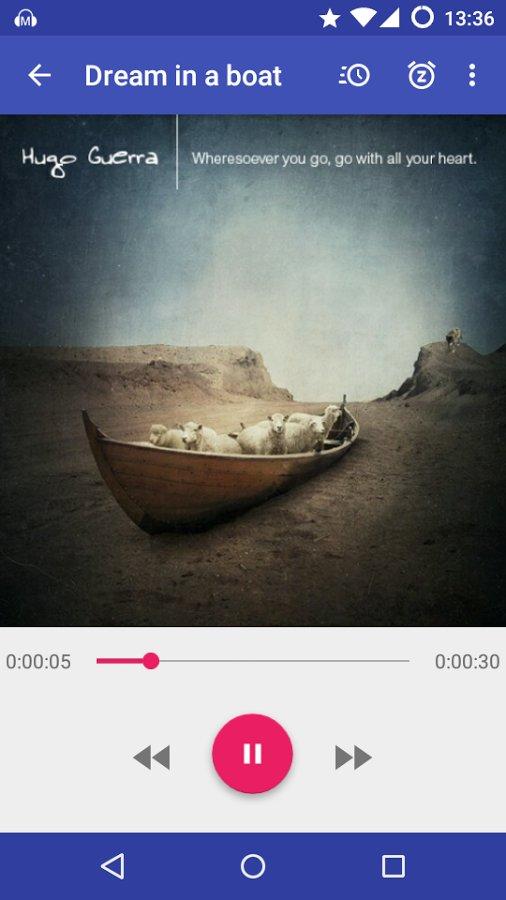 Скачать Material Audiobook Player для Андроид