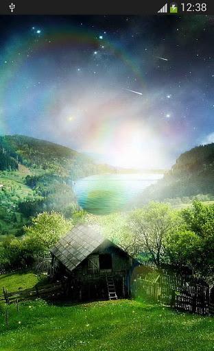 Скачать Метеоры звезды светлячков для Андроид