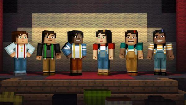 Скачать Minecraft: Story Mode для Андроид