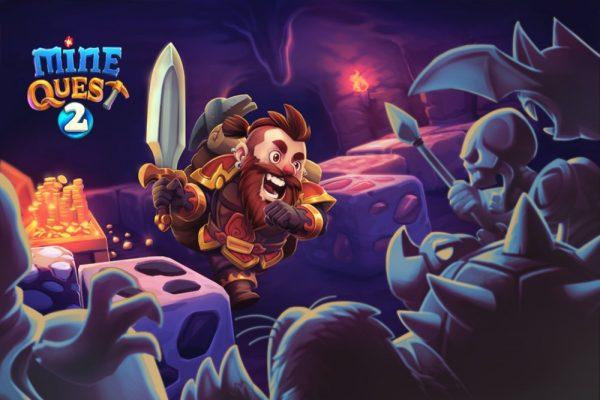 Скачать Mine Quest 2 для Андроид