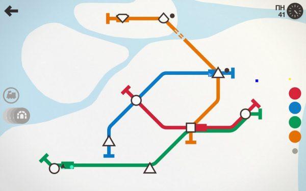 Скачать Mini Metro для Андроид