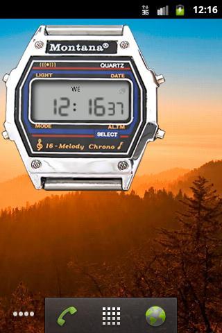 Скачать Монтана часы для Андроид