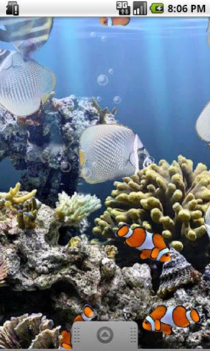 Скачать Настоящий аквариум LWP / The Real Aquarium для Андроид