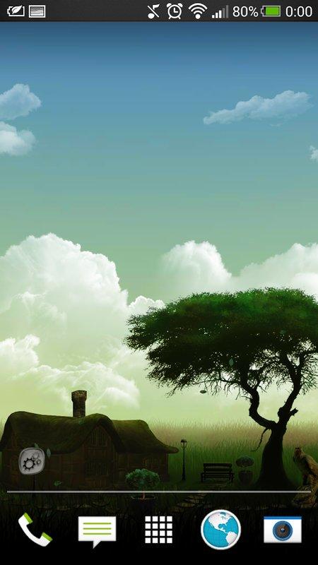 Скачать Нефритовая природа HD для Андроид