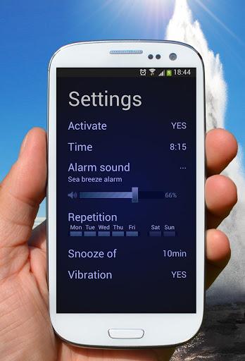 Скачать Neon Alarm Clock free для Андроид