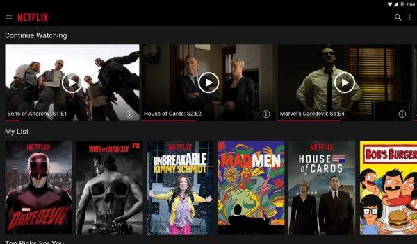 Скачать Netflix для Андроид