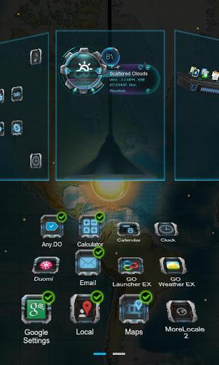 Скачать Next magic light livewallpaper для Андроид