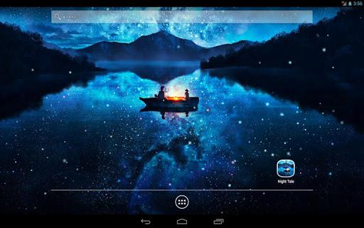 Скачать Night Tale Live Wallpaper для Андроид