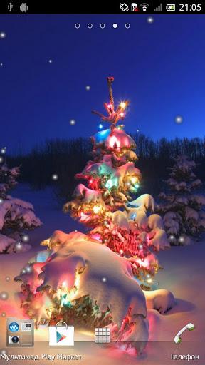 Скачать Новогодняя елка Живые обои / Christmas Tree LWP для Андроид