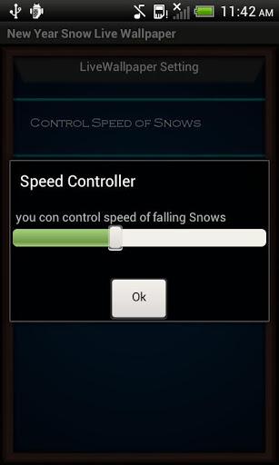 Скачать Новый Год Снег Live Wallpaper для Андроид