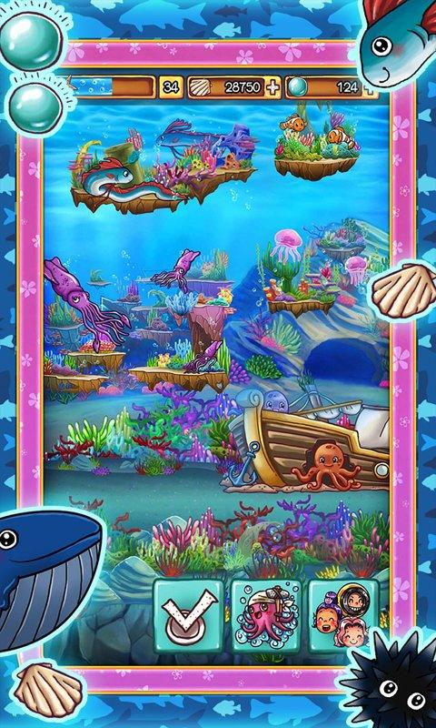Скачать Ocean Aquarium Pocket Island для Андроид
