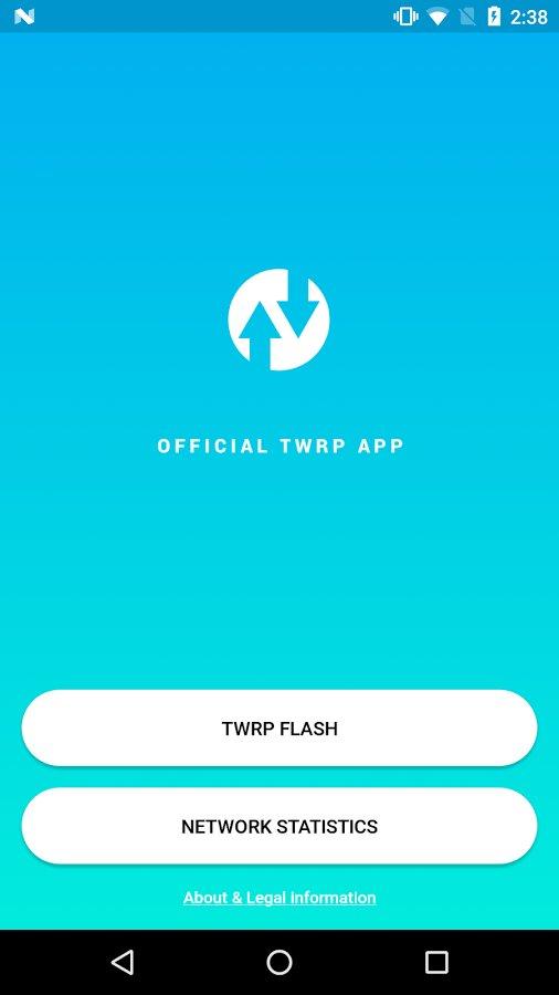 Скачать Official TWRP App для Андроид