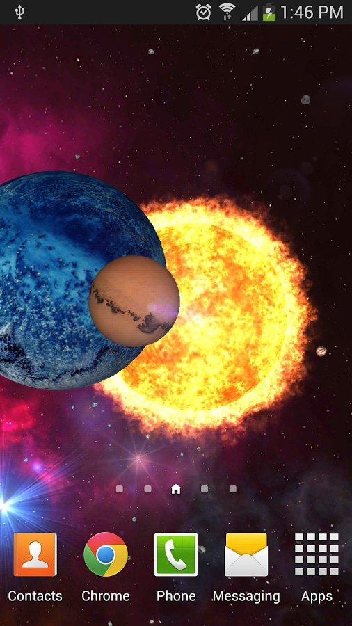 Скачать Orbit Space 3D для Андроид