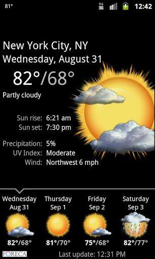 Скачать Palmary Weather для Андроид
