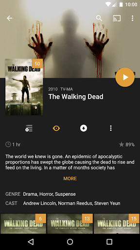 Скачать Plex for Android для Андроид