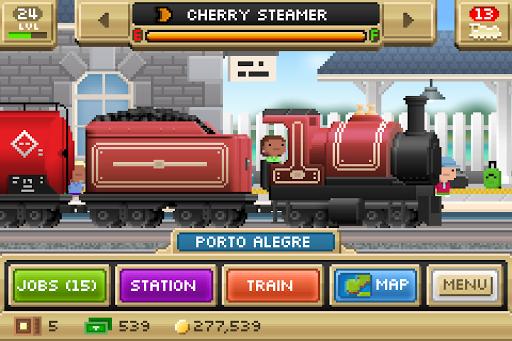 Скачать Pocket Trains для Андроид