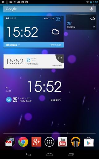 Скачать Погода и Часы Amber Weather для Андроид