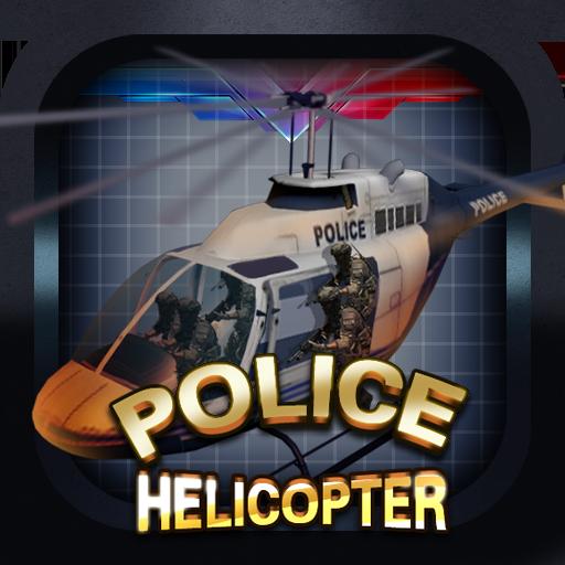 Скачать Полиция вертолет — 3D полет для Андроид