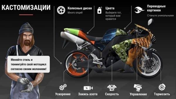 Скачать Racing Fever: Moto для Андроид