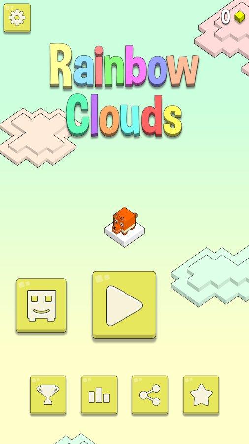 Скачать Rainbow Clouds для Андроид