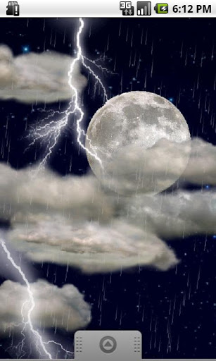 Скачать Реальные грозы — LiveWallpaper / The real thunderstorm — LWP для Андроид