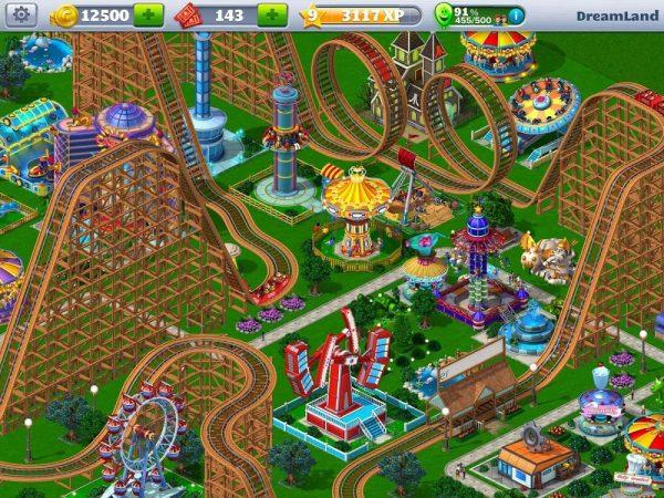 Скачать RollerCoaster Tycoon 4 для Андроид