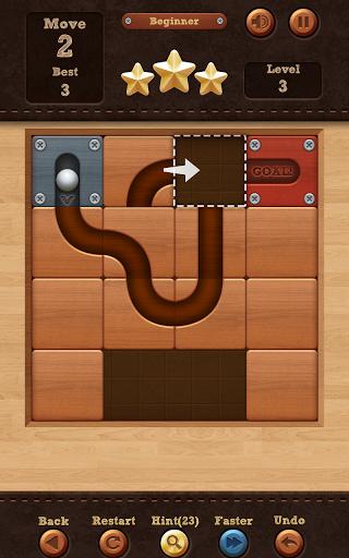 Скачать Roll the Ball: slide puzzle для Андроид