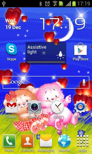 Скачать Романтические живые обои / Love Story Live Wallpaper для Андроид