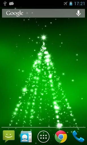 Скачать Рождество 3D живые обои / Christmas 3D Live Wallpaper для Андроид