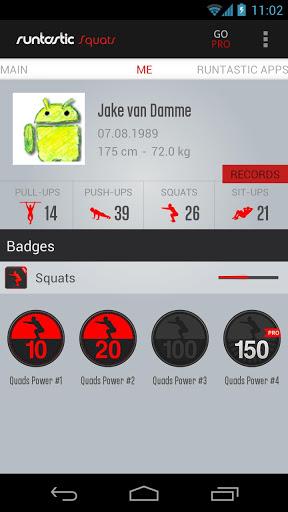 Скачать Runtastic Squats для Андроид