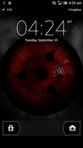 Скачать Sharingan Live Wallpaper для Андроид