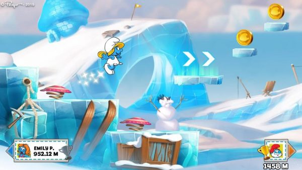 Скачать Smurfs Epic Run для Андроид