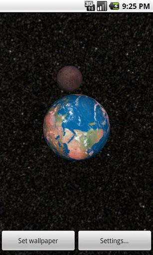 Скачать Solar System 3D Wallpaper Lite для Андроид