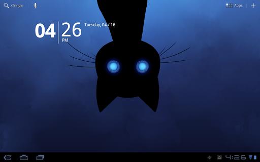 Скачать Stalker Cat Live Wallpaper Lt для Андроид