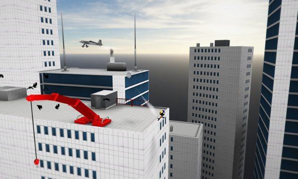 Скачать Stickman Base Jumper 2 для Андроид