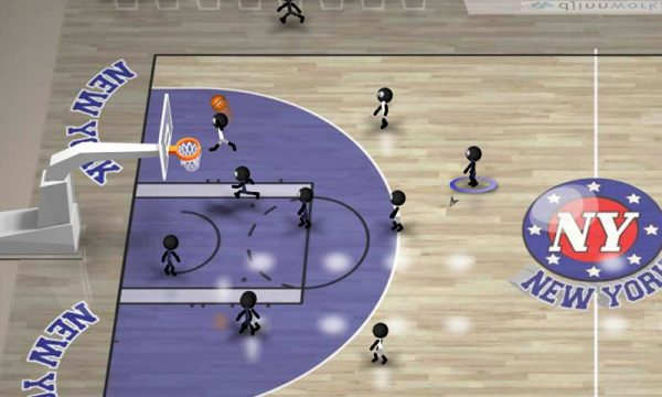 Скачать Stickman Basketball для Андроид