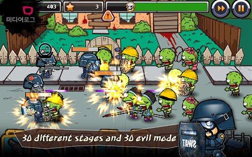 Скачать SWAT and Zombies для Андроид