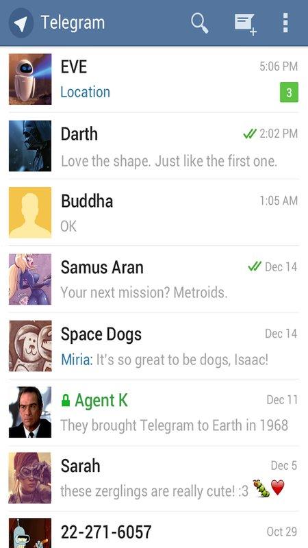 Скачать Telegram для Андроид