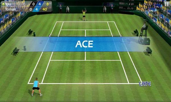 Скачать Теннис пальцем — Tennis 3D для Андроид