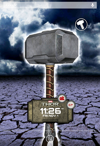 Скачать Thor: The Dark World LWP для Андроид