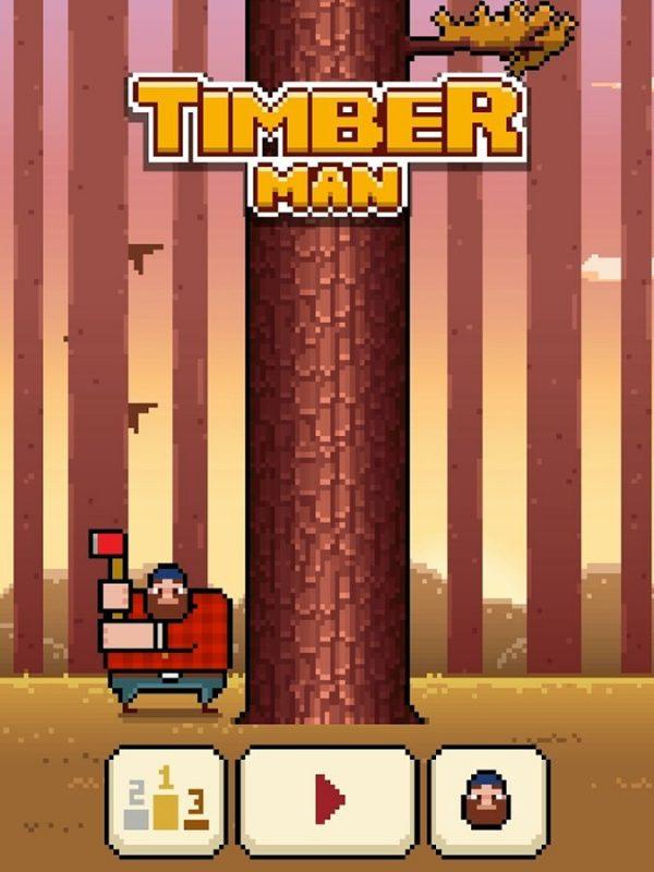 Скачать Timberman для Андроид
