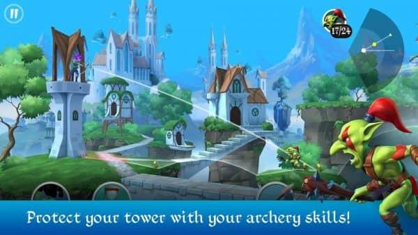 Скачать Tiny Archers для Андроид