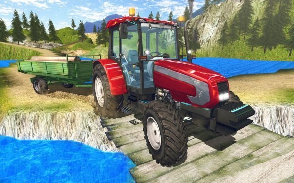 Скачать Tractor driver cargo 3D для Андроид