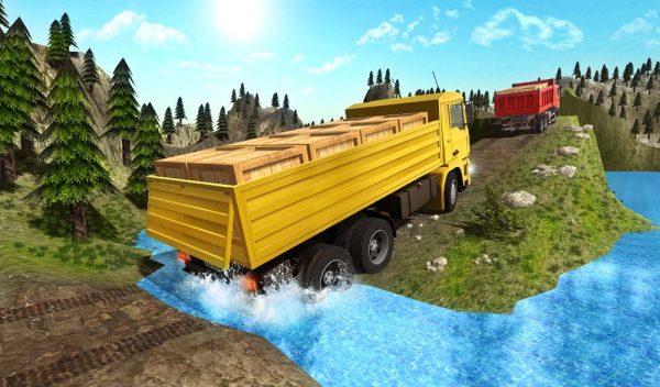Скачать Truck driver extreme 3D для Андроид