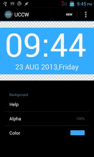 Скачать Ultimate custom widget (UCCW) для Андроид