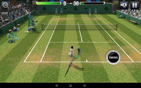 Скачать Ultimate Tennis для Андроид