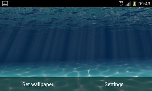 Скачать Under the Sea Live Wallpaper для Андроид