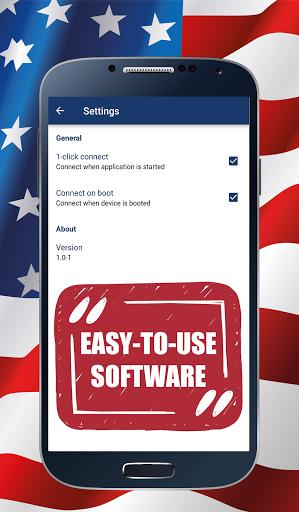 Скачать USA VPN для Андроид