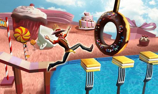 Скачать Веселая пробежка 3D для Андроид